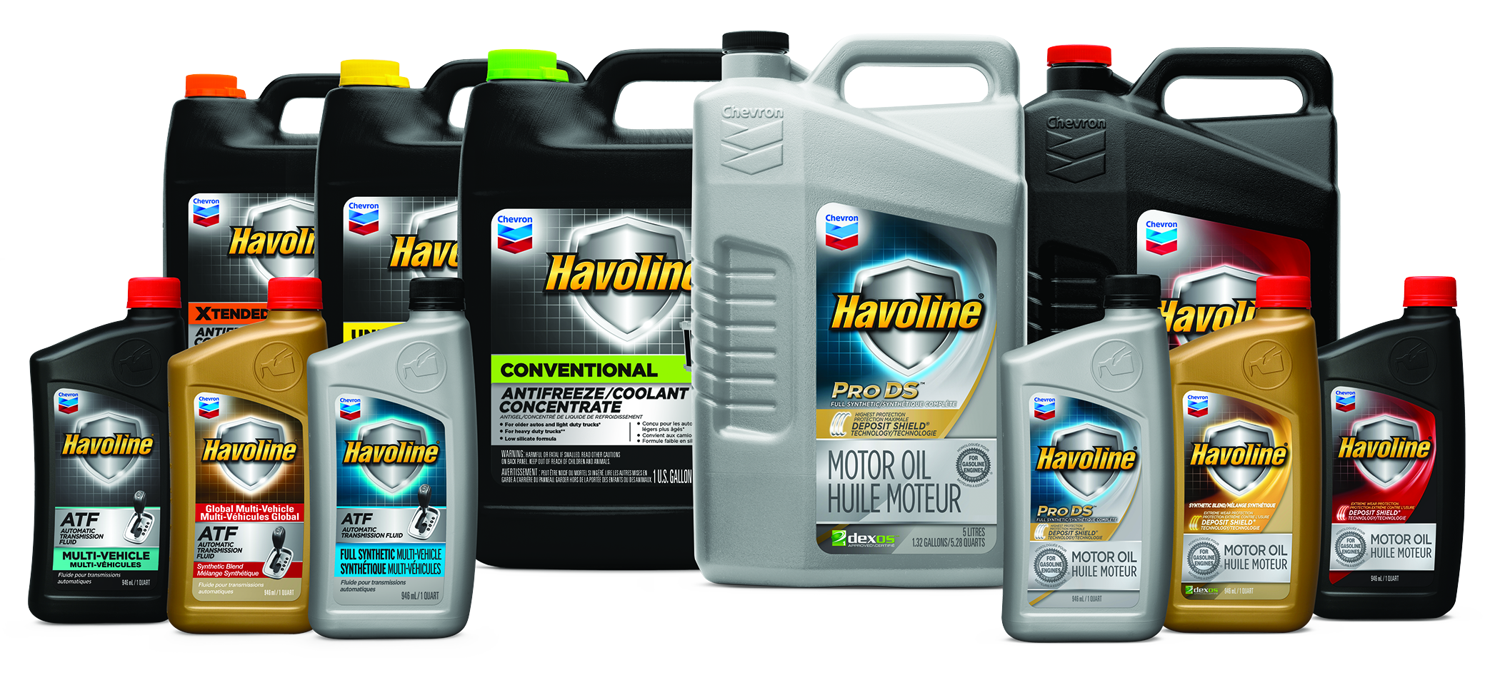 Havoline Products Family
