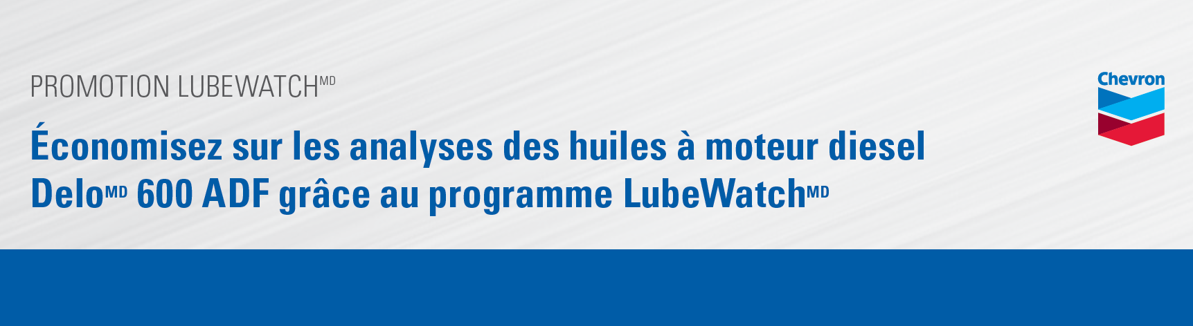 Promotion LubeWatch